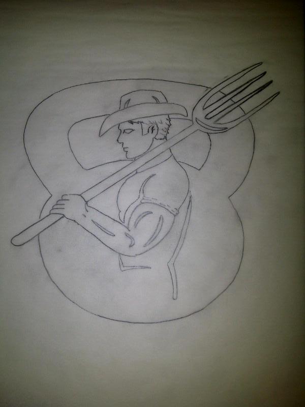 FARM STRONG Concept Logo