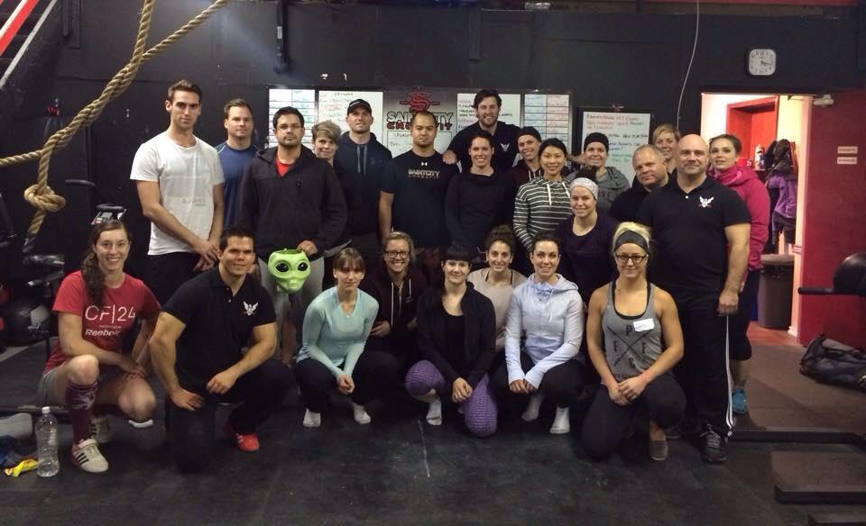 Nov 2 Workshop hosted by Saint City CrossFit