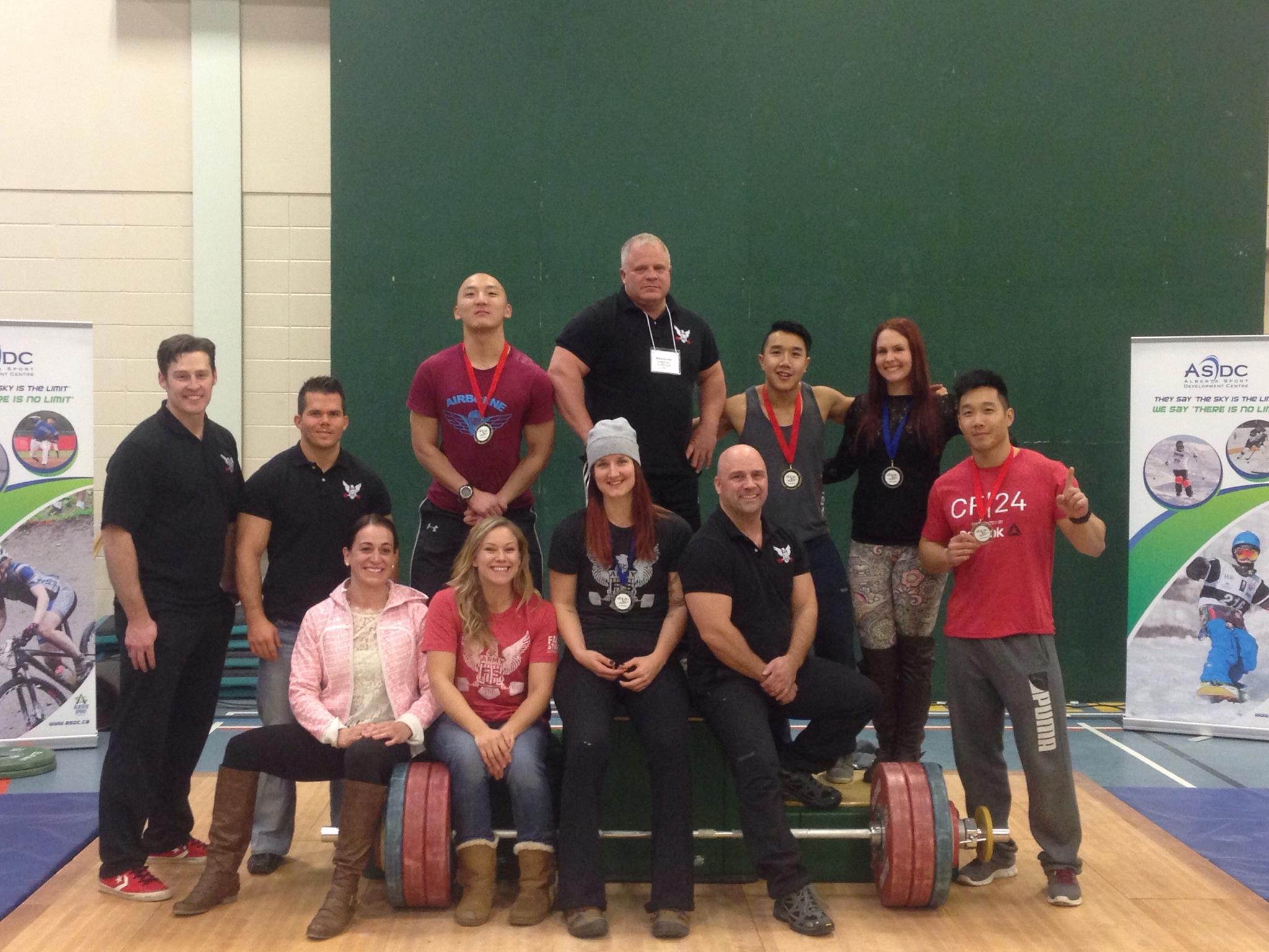 2014 Alberta Weightlifting Championship